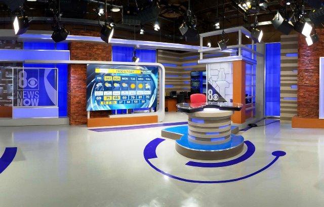 8 News Now studio
